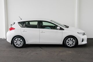 2013 Toyota Corolla ZRE182R Ascent S-CVT Glacier White 7 Speed Constant Variable Hatchback