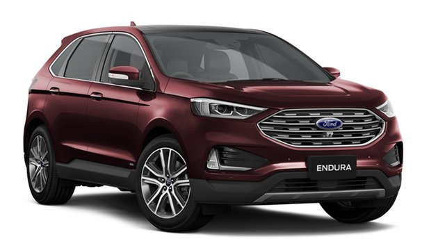 New Ford Endura CA 2019MY Titanium SelectShift AWD, 2019 Ford Endura CA 2019MY Titanium SelectShift AWD Burgundy 8 Speed Sports Automatic Wagon