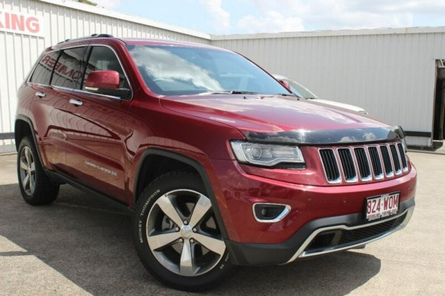 Used Jeep Grand Cherokee WK MY15 Limited, 2015 Jeep Grand Cherokee WK MY15 Limited Red 8 Speed Sports Automatic Wagon
