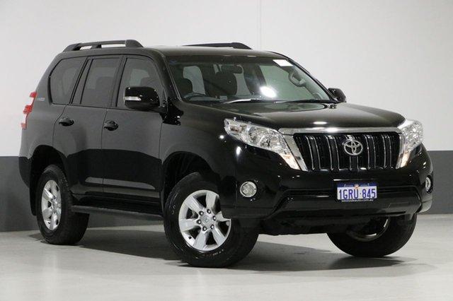 Used Toyota Landcruiser Prado GDJ150R MY16 GXL (4x4), 2015 Toyota Landcruiser Prado GDJ150R MY16 GXL (4x4) Black 6 Speed Automatic Wagon