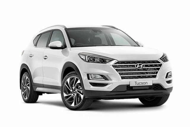 New Hyundai Tucson TLE3 MY19 Special Edition D-CT AWD, 2018 Hyundai Tucson TLE3 MY19 Special Edition D-CT AWD Polar White 7 Speed