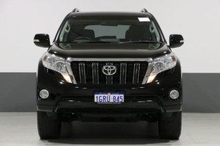2015 Toyota Landcruiser Prado GDJ150R MY16 GXL (4x4) Black 6 Speed Automatic Wagon.
