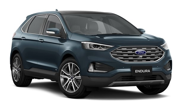 New Ford Endura CA 2019MY Titanium SelectShift AWD, 2018 Ford Endura CA 2019MY Titanium SelectShift AWD Baltic Sea Green 8 Speed Sports Automatic Wagon