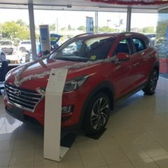 2018 Hyundai Tucson TLE3 MY19 Special Edition D-CT AWD Firey Red 7 Speed.