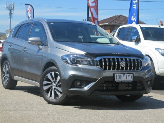 Demo Suzuki S-Cross MY16 Turbo Prestige, 2018 Suzuki S-Cross MY16 Turbo Prestige Grey 6 Speed Automatic Wagon