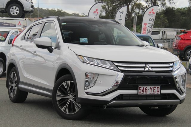 New Mitsubishi Eclipse Cross YA MY19 Exceed 2WD, 2019 Mitsubishi Eclipse Cross YA MY19 Exceed 2WD Sterling Silver 8 Speed Constant Variable Wagon