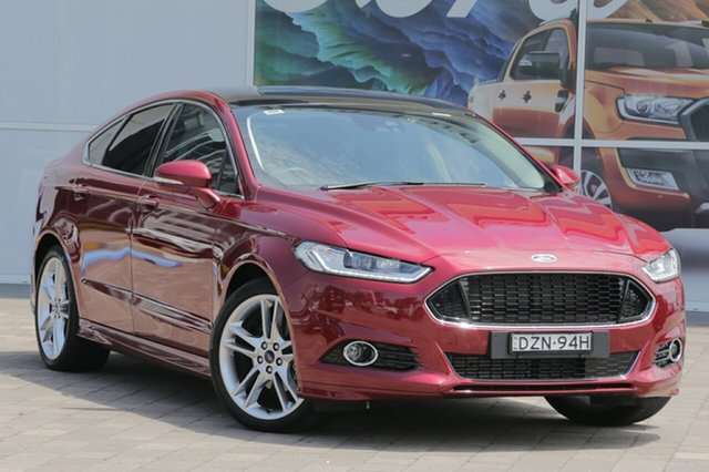 Used Ford Mondeo MD 2017.50MY Titanium PwrShift, 2017 Ford Mondeo MD 2017.50MY Titanium PwrShift Ruby Red 6 Speed Sports Automatic Dual Clutch