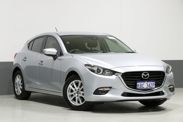 Used Mazda 3 BN MY18 Touring (5YR), 2018 Mazda 3 BN MY18 Touring (5YR) Silver 6 Speed Automatic Hatchback