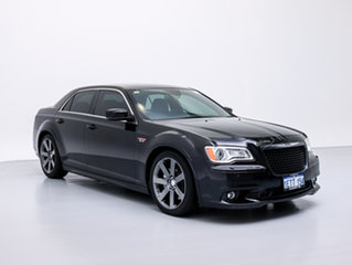 2014 Chrysler 300 MY12 SRT8 Black 5 Speed Automatic Sedan.