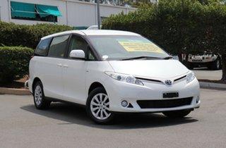 2013 Toyota Tarago ACR50R MY13 GLi White 7 Speed Constant Variable Wagon.