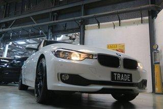 2014 BMW 316i F30 MY0814 High-Line Modern Line White 8 Speed Automatic Sedan.