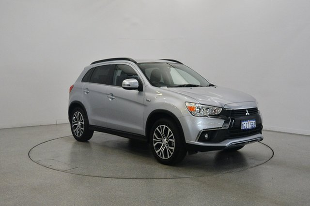Used Mitsubishi ASX XC MY17 LS 2WD, 2017 Mitsubishi ASX XC MY17 LS 2WD Silver 6 Speed Constant Variable Wagon