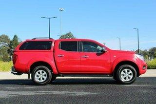 2017 Nissan Navara D23 Series II ST (4x4) Red 7 Speed Automatic Dual Cab Utility.