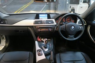 2014 BMW 316i F30 MY0814 High-Line Modern Line White 8 Speed Automatic Sedan