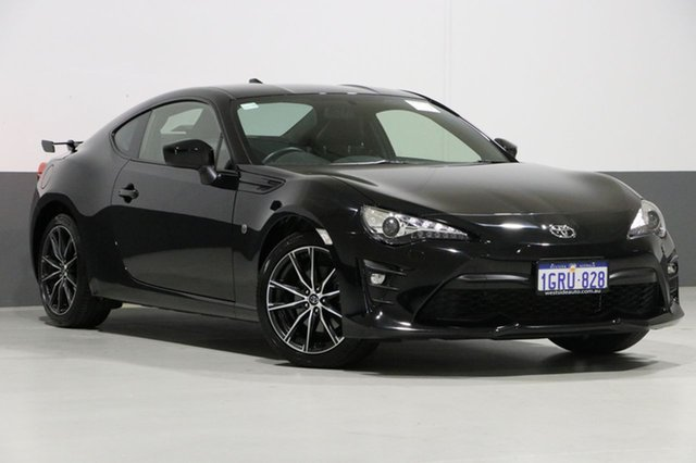 Used Toyota 86 ZN6 MY17 Update GTS, 2017 Toyota 86 ZN6 MY17 Update GTS Black 6 Speed Auto Sequential Coupe