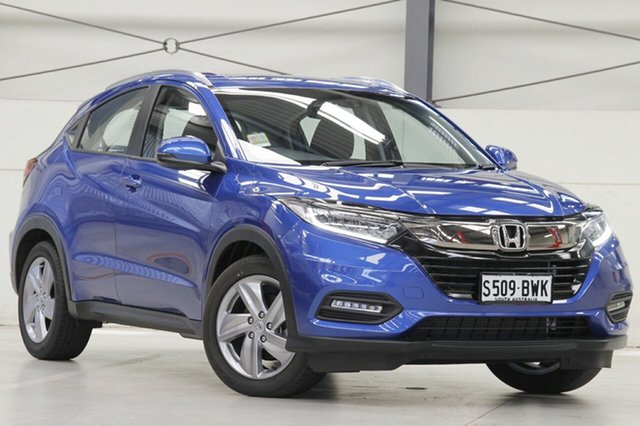 Demo Honda HR-V MY18 VTi-S, 2018 Honda HR-V MY18 VTi-S Brilliant Sporty Blue 1 Speed Constant Variable Hatchback