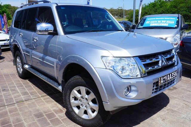 Used Mitsubishi Pajero NW MY12 Platinum, 2012 Mitsubishi Pajero NW MY12 Platinum Silver 5 Speed Sports Automatic Wagon