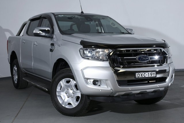 Used Ford Ranger  XLT Double Cab, 2018 Ford Ranger PX MkII 2018.00 XLT Double Cab Ingot Silver 6 Speed Sports Automatic Utility
