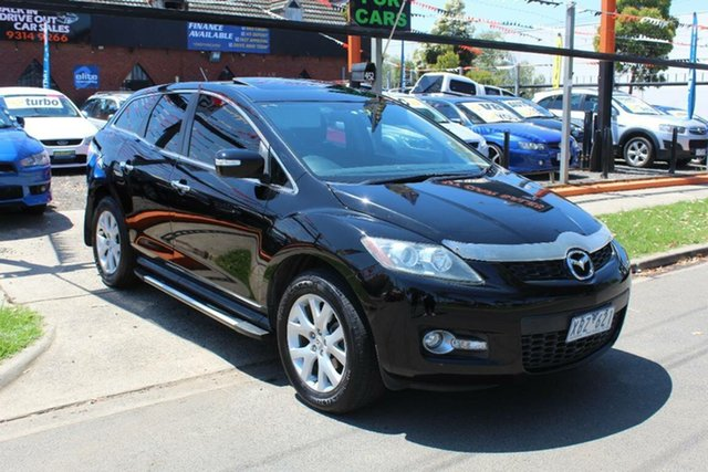 Used Mazda CX-7 ER MY10 Luxury Sports (4x4), 2009 Mazda CX-7 ER MY10 Luxury Sports (4x4) Black 6 Speed Auto Activematic Wagon
