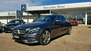 2015 Mercedes-Benz C250 W205 806MY d 7G-Tronic + Tenorite Grey Sports Automatic Sedan.