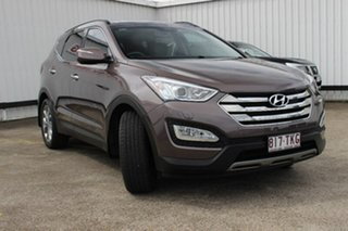 2013 Hyundai Santa Fe DM MY14 Highlander Brown 6 Speed Sports Automatic Wagon
