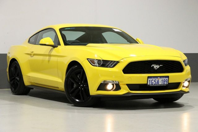 Used Ford Mustang FM MY17 Fastback 2.3 Gtdi, 2017 Ford Mustang FM MY17 Fastback 2.3 Gtdi Yellow 6 Speed Automatic Coupe