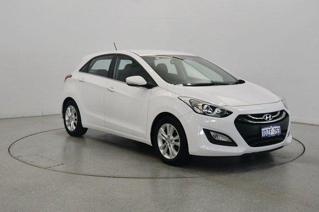Used Hyundai i30 GD Elite, 2012 Hyundai i30 GD Elite White 6 Speed Sports Automatic Hatchback
