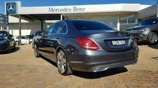 2015 Mercedes-Benz C250 W205 806MY d 7G-Tronic + Tenorite Grey Sports Automatic Sedan