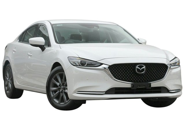 New Mazda 6 6C MY18 (gl) Touring (5Yr), 2018 Mazda 6 6C MY18 (gl) Touring (5Yr) Snowflake White Pearl 6 Speed Automatic Sedan