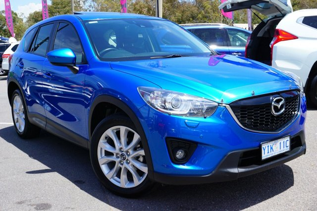Used Mazda CX-5 KE1031 MY14 Akera SKYACTIV-Drive AWD, 2013 Mazda CX-5 KE1031 MY14 Akera SKYACTIV-Drive AWD Blue 6 Speed Sports Automatic Wagon