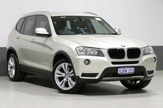 2012 BMW X3 F25 xDrive 20I Champagne 8 Speed Automatic Wagon.