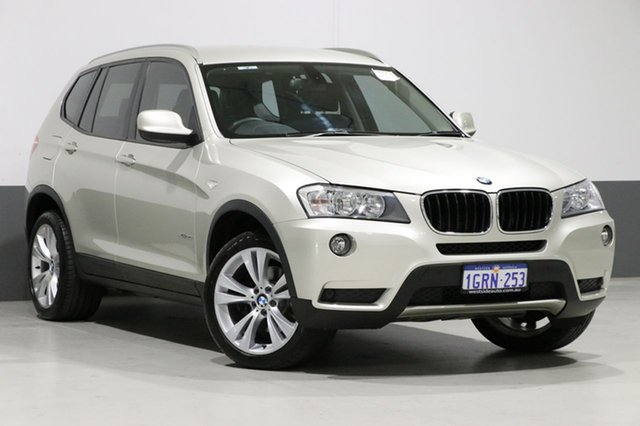 Used BMW X3 F25 xDrive 20I, 2012 BMW X3 F25 xDrive 20I Champagne 8 Speed Automatic Wagon