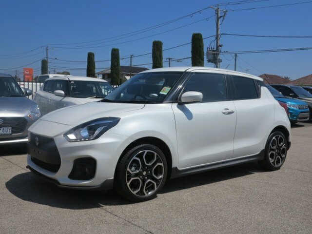New Suzuki Swift MY18 Sport, 2018 Suzuki Swift MY18 Sport White 6 Speed Automatic Hatchback