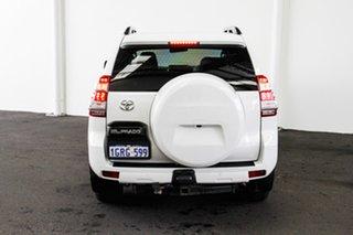 2013 Toyota Landcruiser Prado KDJ150R MY14 GXL Glacier White 6 Speed Manual Wagon