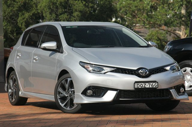 Used Toyota Corolla ZRE182R ZR S-CVT, 2017 Toyota Corolla ZRE182R ZR S-CVT Silver 7 Speed Constant Variable Hatchback
