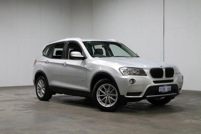 Used BMW X3 F25 MY1011 xDrive20i Steptronic, 2012 BMW X3 F25 MY1011 xDrive20i Steptronic Silver 8 Speed Automatic Wagon