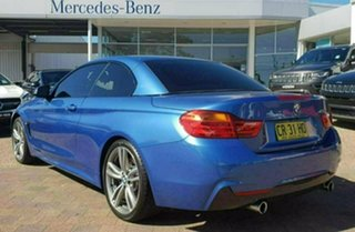 2014 BMW 435i F33 Blue 6 Speed Manual Convertible.