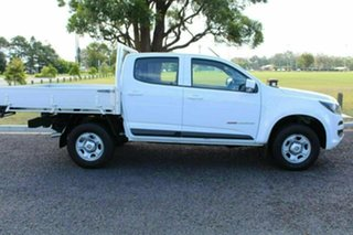 2016 Holden Colorado RG MY17 LS Crew Cab White Manual CAB CHASSIS - DUAL CAB.
