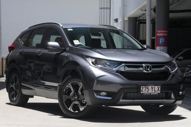 Demo Honda CR-V RW MY18 VTi-L FWD, 2018 Honda CR-V RW MY18 VTi-L FWD Modern Steel 1 Speed Constant Variable Wagon