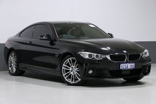 2016 BMW 430i F32 MY16.5 M Sport Black 8 Speed Automatic Coupe.
