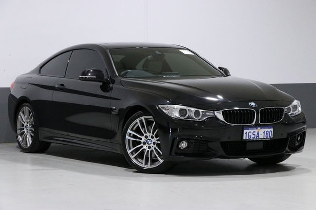 Used BMW 430i F32 MY16.5 M Sport, 2016 BMW 430i F32 MY16.5 M Sport Black 8 Speed Automatic Coupe