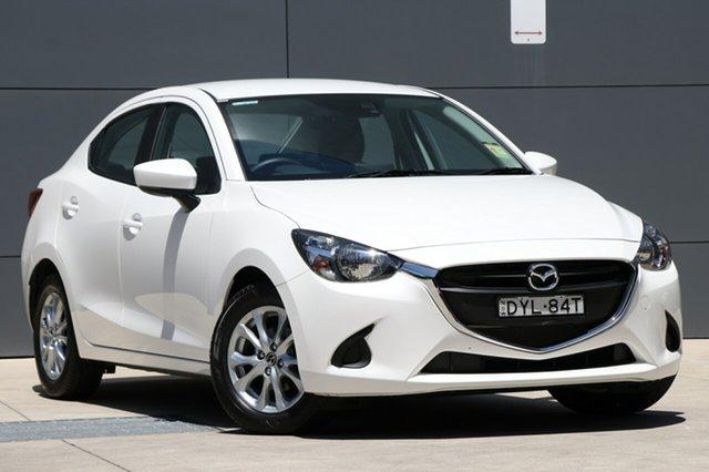 Demo Mazda 2 DL2SAA Maxx SKYACTIV-Drive, 2018 Mazda 2 DL2SAA Maxx SKYACTIV-Drive Snowflake White 6 Speed Sports Automatic Sedan