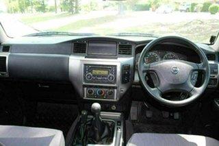 2014 Nissan Patrol GU Series 9 ST (4x4) Silver 5 Speed Manual Wagon