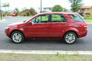 2014 Ford Territory SZ MkII TS Seq Sport Shift Red Sports Automatic Wagon