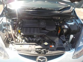 2009 Mazda 2 DE Neo Silver 4 Speed Automatic Hatchback