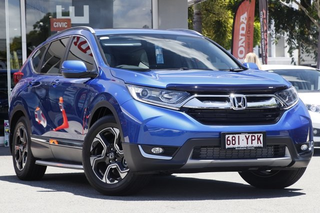 Demo Honda CR-V RW MY18 VTi-L FWD, 2018 Honda CR-V RW MY18 VTi-L FWD Blue 1 Speed Constant Variable Wagon