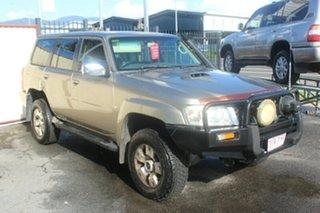 2005 Nissan Patrol GU IV MY05 ST Gold 5 Speed Manual Wagon.