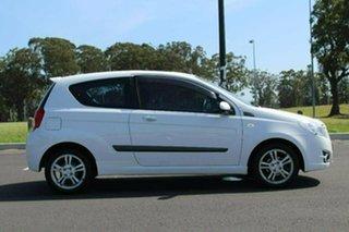 2009 Holden Barina TK MY10 White 5 Speed Manual Hatchback.