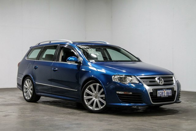Used Volkswagen Passat Type 3C MY08 R36 DSG 4MOTION, 2008 Volkswagen Passat Type 3C MY08 R36 DSG 4MOTION Blue 6 Speed Sports Automatic Dual Clutch Wagon