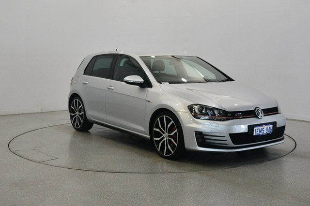 Used Volkswagen Golf VII MY14 GTI DSG Performance, 2014 Volkswagen Golf VII MY14 GTI DSG Performance Reflex Silver 6 Speed Sports Automatic Dual Clutch
